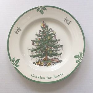 Spode Cookies For Santa Plate